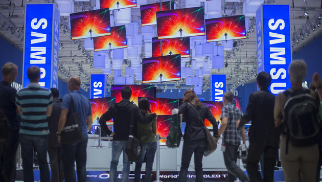 TV-Prototypen von Samsung auf Weg zur IFA verschollen (Bild: Clemens Bilan/dapd)