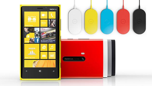 Lumia 920: Nokias letzte Hoffnung lädt kabellos auf (Bild: Nokia)