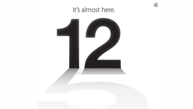 Termin offiziell: Apple lädt zu Event am 12. September (Bild: Apple)