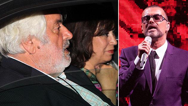 VIPs und Familie bei George Michaels Comeback (Bild: Kristian Bissuti, Andreas Graf)