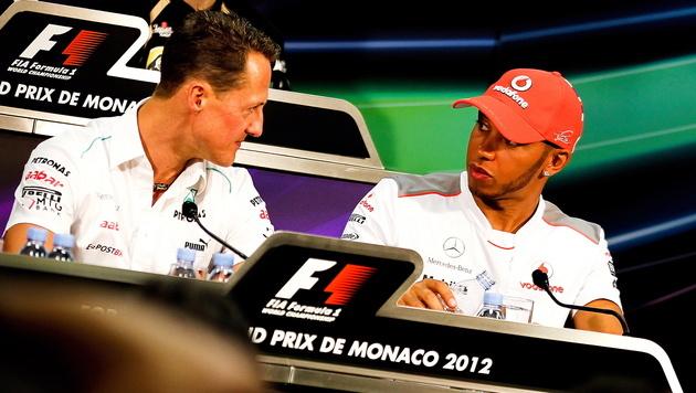 Hamilton für Schumacher? Teams dementieren (Bild: EPA)