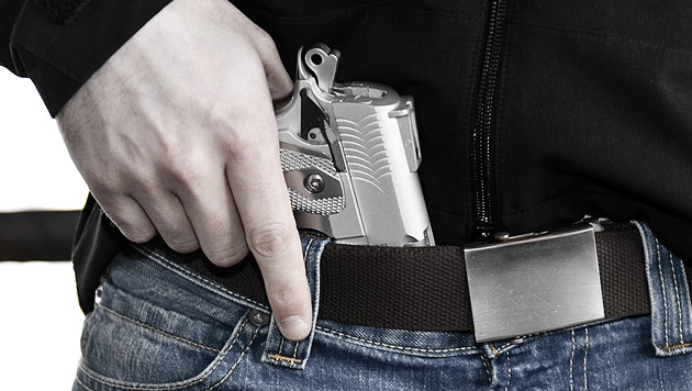 Schuss in Grazer Lokal: Mann in Schläfe getroffen (Bild: Andreas Graf (Symbolbild))
