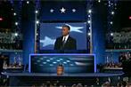 Anhänger bejubeln Wiederwahl von Barack Obama