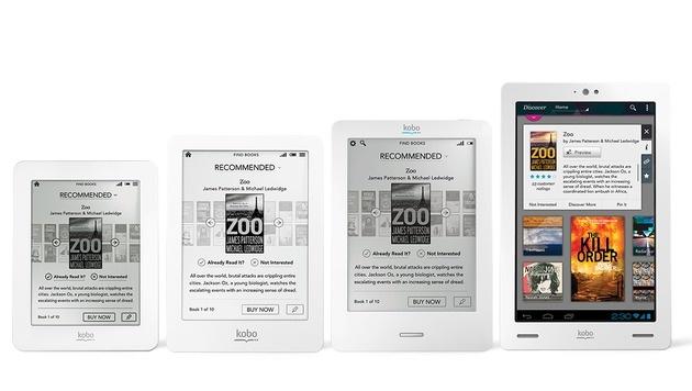 E-Book-Reader-Familie von Kobo bekommt Zuwachs (Bild: Kobo)