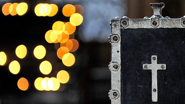 Mesner verfolgt Dieb quer durch Klagenfurter City (Bild: APA/ROBERT JAEGER)