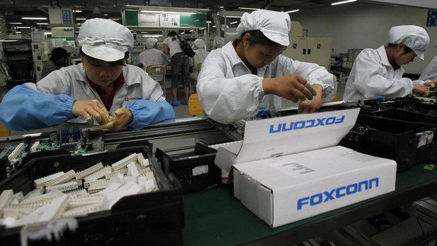 Studenten in China von Foxconn zu Arbeit gezwungen (Bild: AP)