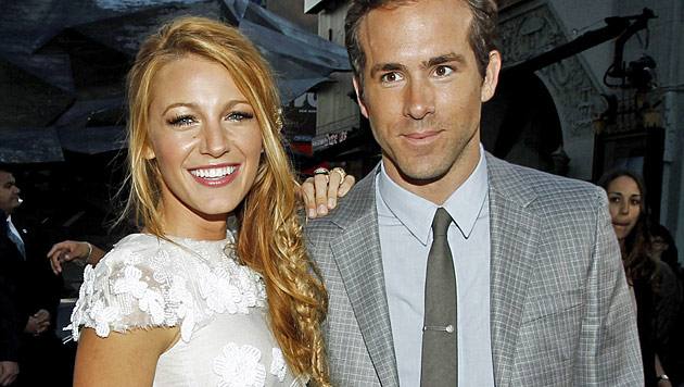 Blake Lively und Ryan Reynolds haben geheiratet (Bild: dapd)