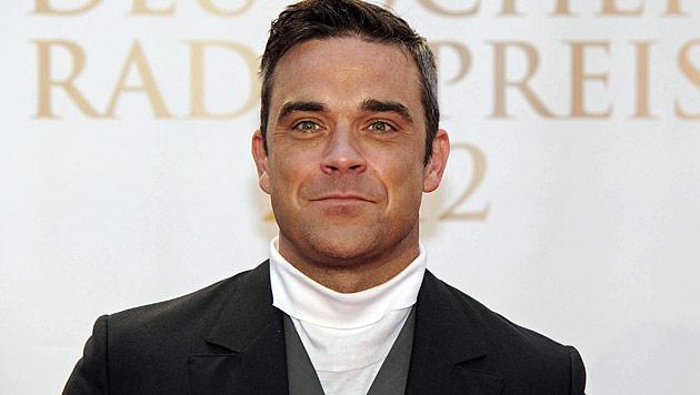 Robbie Williams leidet mit seiner schwangeren Frau (Bild: dapd)