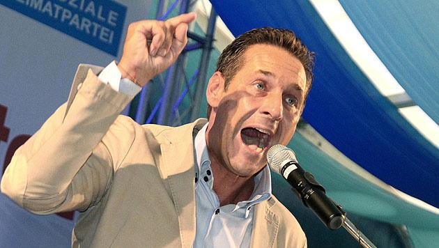 Strache klagt gegen ESM - Antrag beim VfGH (Bild: APA/MATTHIAS LAUBER)