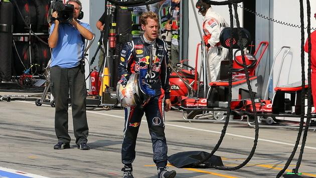 Vettel glaubt noch immer an seine WM-Titelchance (Bild: EPA)