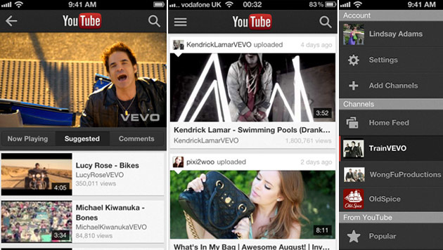 YouTube startet eigene App für Apples iPhone (Bild: YouTube)