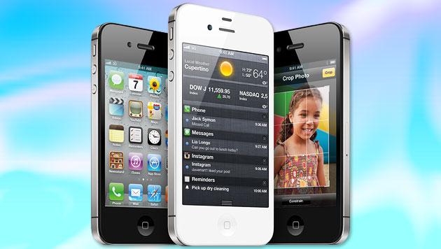 iPhone 5: Samsung und HTC wollen Verkauf verbieten (Bild: apple.com, krone.at-Grafik)