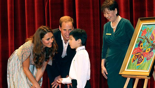 Prinz William wünscht sich zwei Kinder mit Kate (Bild: dapd)