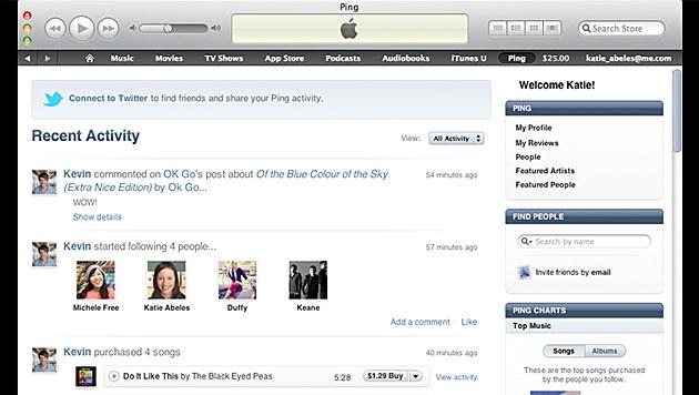 Apple macht erfolgloses Musik-Netzwerk Ping dicht (Bild: Apple)