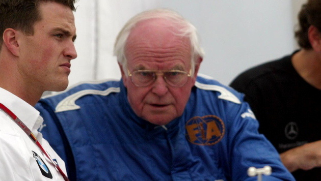 Der legendäre Formel-1-Arzt Sid Watkins ist tot (Bild: Patrik Stollarz/dapd)