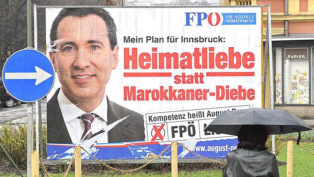 FPÖ-Kandidat Penz wegen Verhetzung angeklagt (Bild: APA/ROBERT PARIGGER)