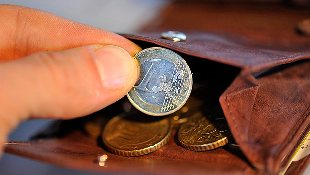 Inflation lag im April bei ein Prozent (Bild: APA/dpa/Andreas Gebert)