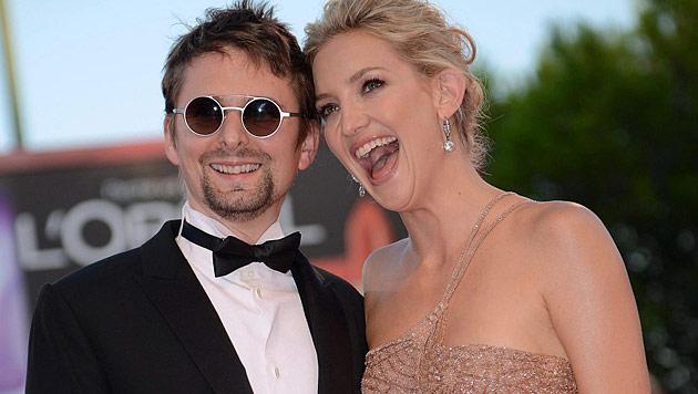 Kate Hudson und Matt Bellamy (Bild: EPA)