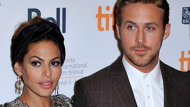 Ryan Gosling will Eva Mendes zur Heirat überreden (Bild: EPA)