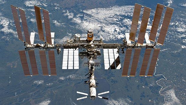 Russland arbeitet an Roboter für ISS-Außenarbeiten (Bild: NASA)
