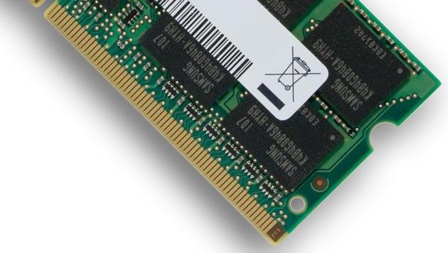 Anteil von DRAM-Chips in PCs erstmals unter 50% (Bild: Samsung)