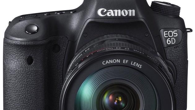 Canon stellt neue Vollformatkamera EOS 6D vor (Bild: Canon)