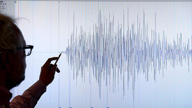 Erdbeben in Vorarlberg: Stärke 3,6 nach Richter (Bild: APA/dpa/Maurizio Gambarini (Symbolbild))