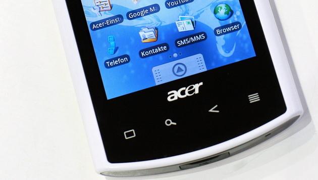 Google stoppt Acer-Smartphone mit chinesischem OS (Bild: Ronny Hartmann/dapd)