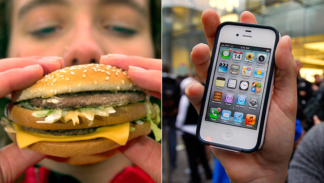 Nach dem Big-Mac-Index kommt der iPhone-Index (Bild: AP)