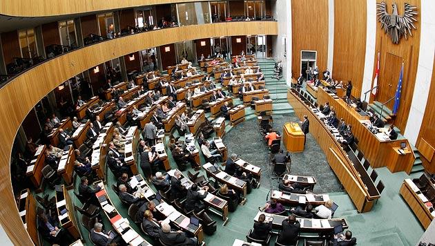 Budget mit den Stimmen von SP und VP beschlossen (Bild: APA/Georg Hochmuth)