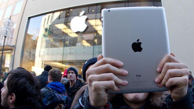 Produktion von iPad Mini angeblich bereits angelaufen (Bild: Sebastian Widmann/dapd)