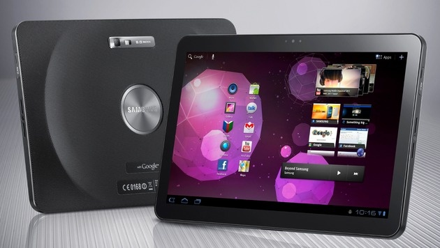 Samsungs Galaxy Tab erhält Bestnote in AK-Test (Bild: Samsung)