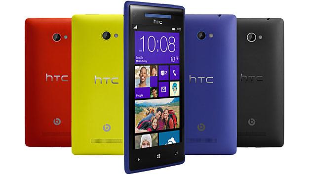 HTC zeigt erste Smartphones mit Windows Phone 8 (Bild: HTC)