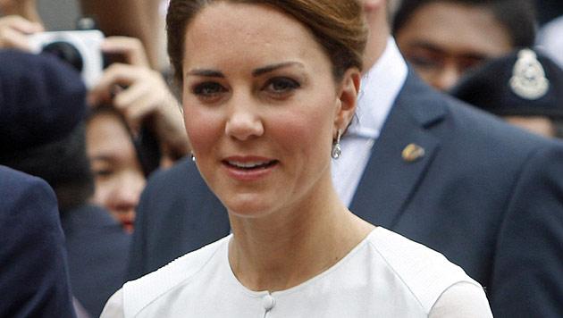 Königshaus: Keine Kontrolle über Kates Oben-ohne-Fotos (Bild: AP)