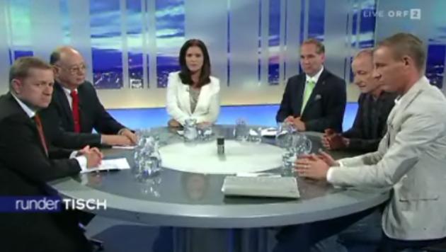 """U-Ausschuss: Opposition fühlt sich """"erpresst"""" (Bild: ORF)"""