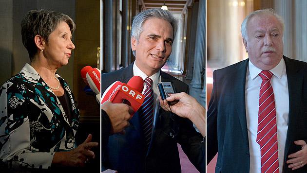 U-Ausschuss: SPÖ empört sich über Kritik der Opposition (Bild: APA/ROLAND SCHLAGER)