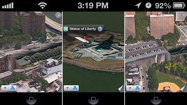 iOS 6 ist da - Spott für misslungene 3D-Landkarten (Bild: apple.com, twitter.com)