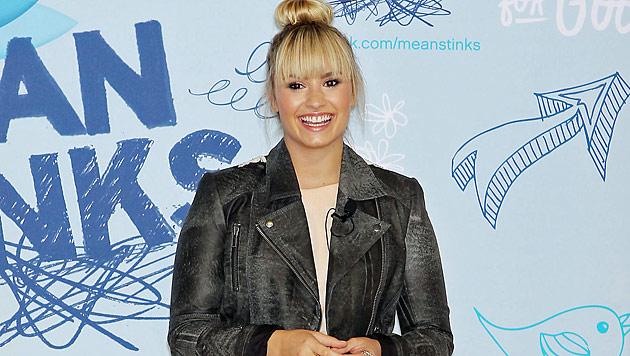 Demi Lovato unterstützt Anti-Mobbing-Kampagne (Bild: dapd)