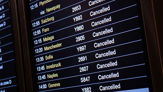 Flieger am Boden? Diese Rechte hast du bei einem Streik (Bild: thinkstockphotos.de (Symbolbild))