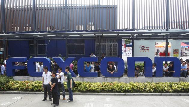Foxconn gibt Beschäftigung von Schülern in China zu (Bild: AP)