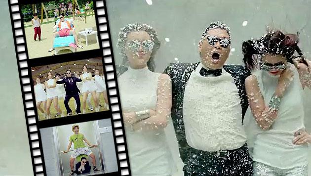 """""""Gangnam Style"""" spielte 8 Mio. Dollar auf YouTube ein (Bild: YouTube.com)"""
