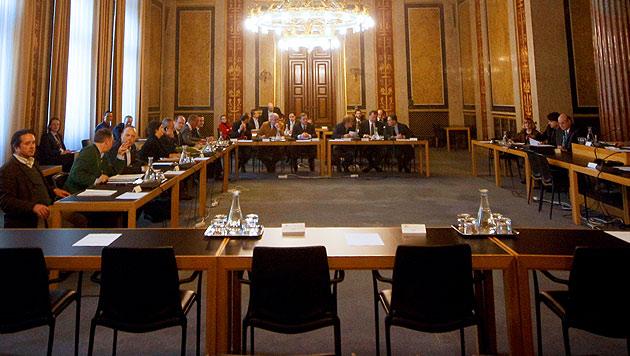 U-Ausschuss kämpft mit Zeugenschwund (Bild: APA/GEORG HOCHMUTH)
