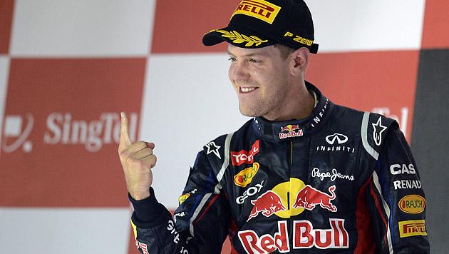 """Vettel wieder im Jagdfieber: """"Wir glauben an uns"""" (Bild: EPA)"""