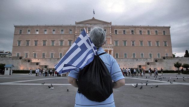 Griechenland droht im Sommer die nächste Pleite (Bild: EPA)