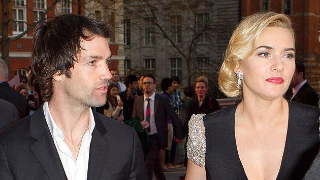 Kate Winslet mit ihrem Freund Ned zusammengezogen (Bild: dapd)