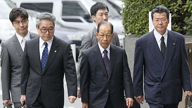 Olympus und 3 Top-Manager bekennen sich schuldig (Bild: dapd)
