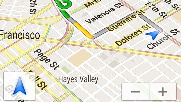 Update lehrt Google Maps mehrere neue Funktionen (Bild: AP)