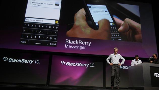 BlackBerry 10 findet Anschluss an soziale Netzwerke (Bild: AP)