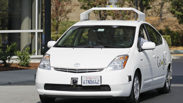 Google baut eigenes selbstfahrendes Auto (Bild: AP)