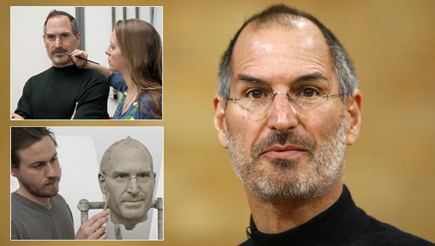 Steve Jobs wird als Wachsfigur verewigt (Bild: Axel Schmidt/dapd, Madame Tussauds, krone.at-Grafik)